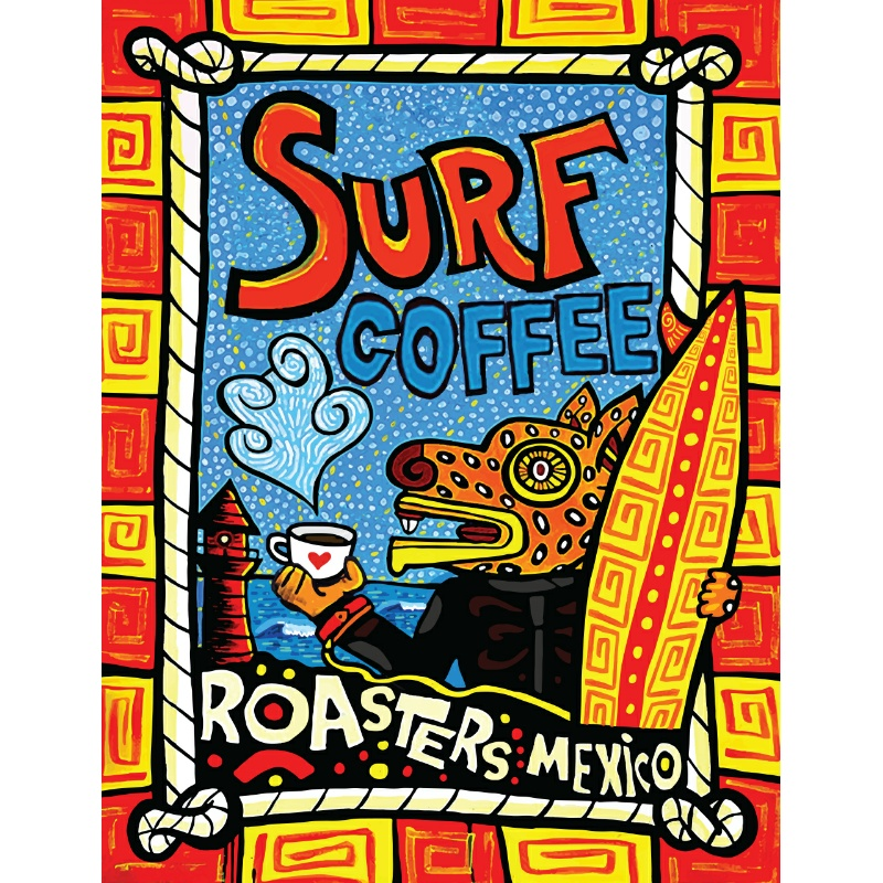 Surf coffee roasters